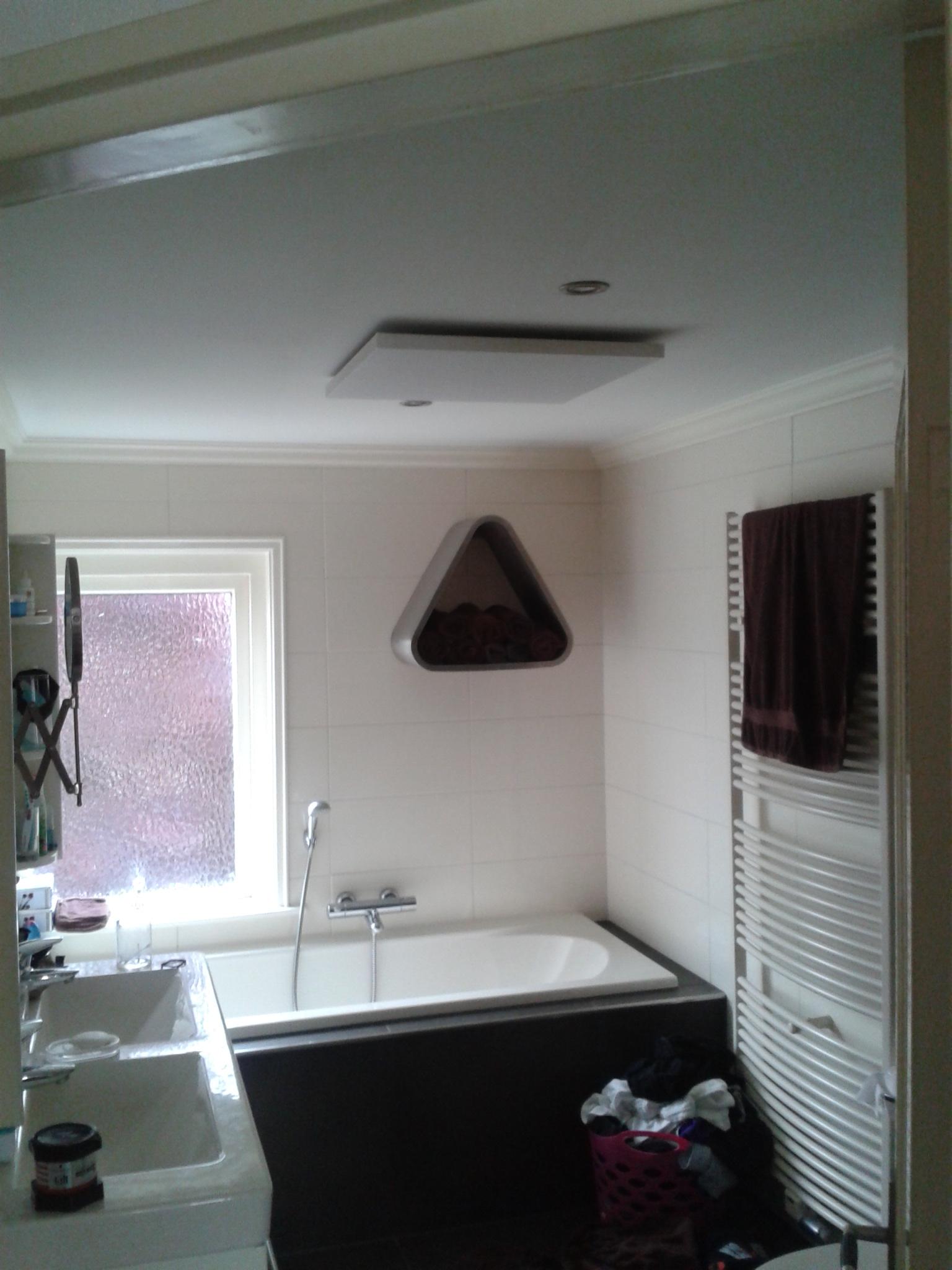 warmte straling woonkamer